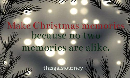 makechristmasmemories