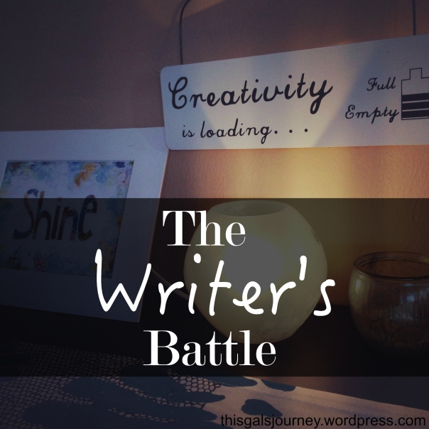 The Writer's Battle