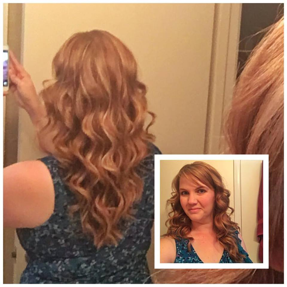 How I Curl My Hair: Beachy Waves – This Gal\'s Journey